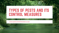 Types of pests and its control measures