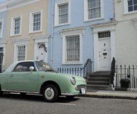 car outside a london home